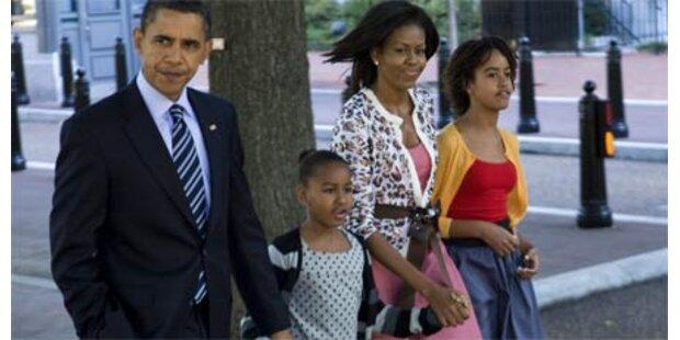Schweinegrippe-Impfung für Obama-Töchter