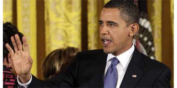 Obama geißelt