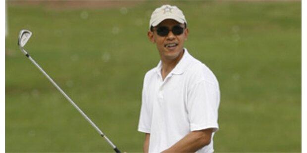 Obamas letzte Ferien vor dem Amtsantritt