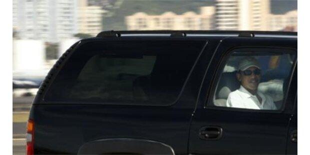 Republikaner fliehen vor Obamas Amtseinführung