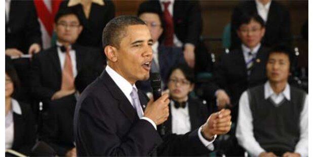 Obama fordert Achtung der Menschenrechte