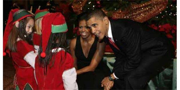 So feiern die Obamas Weihnachten