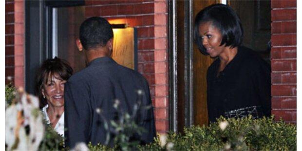 Obama überraschte Michelle mit Party