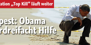 Ölpest: Obama verdreifacht Hilfe