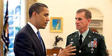 Obama feuert Afghanistan-General