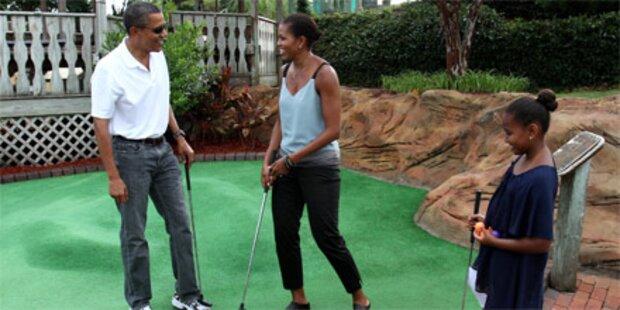 Obama macht Urlaub auf nobler Ferieninsel