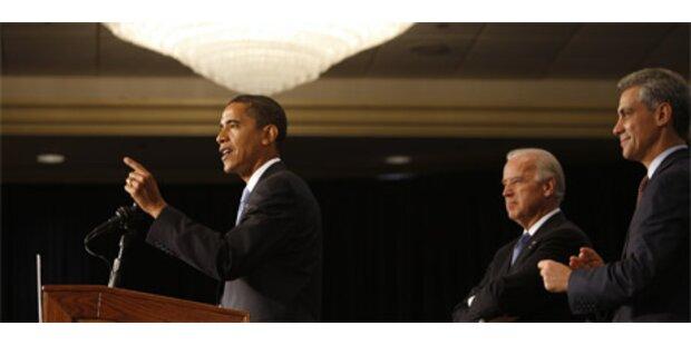 Obama macht Finanzkrise zur Chefsache