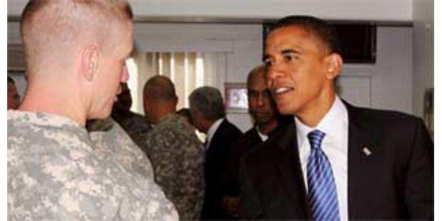 Obama will sich auf Afghanistan konzentrieren