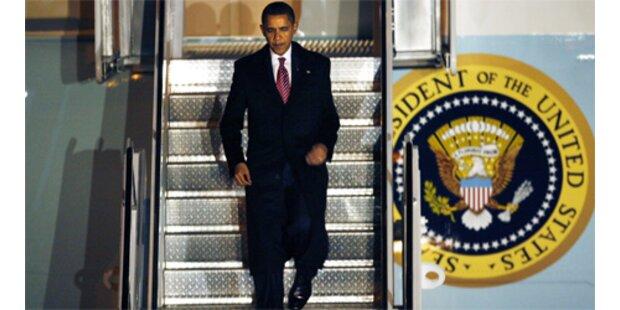 Obama flog erstmals mit der Air Force One