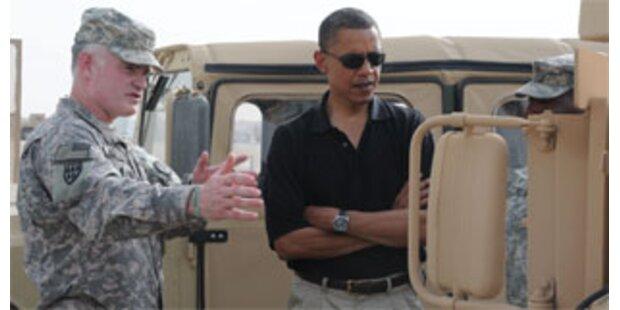 Obama auf Überraschungsbesuch in Afghanistan
