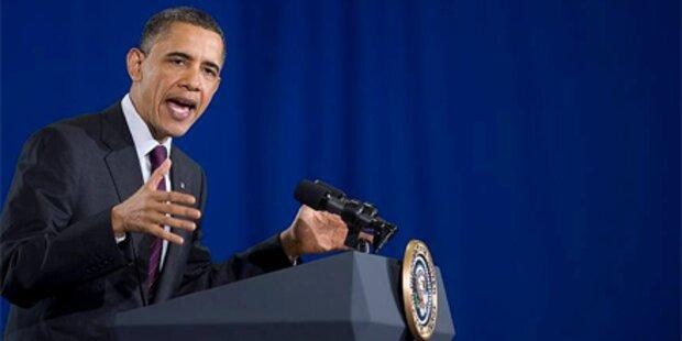 Obama verteidigt seinen Nahost-Vorstoß