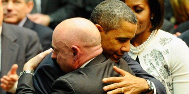 Obama besucht Senatorin im Spital
