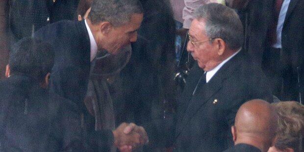 Telefonat zwischen Obama und Castro