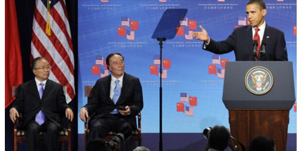 Obama reicht China die Hand