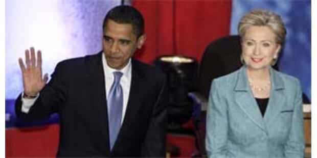 Obama verliert Vorsprung auf Clinton