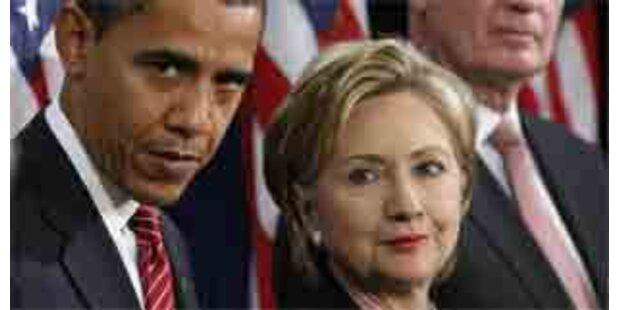 Obama-Team hilft beim Geldsammeln für Hillary