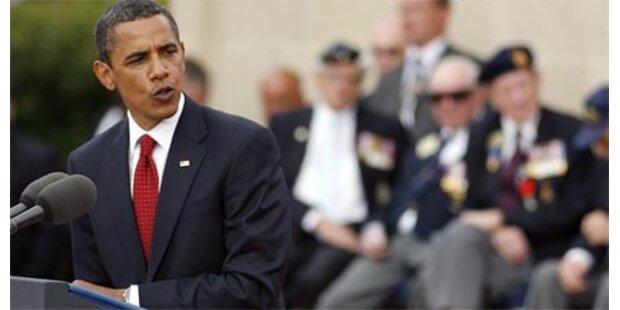 Obama nahm am D-Day-Jubiläum teil