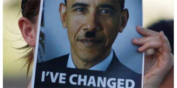 Hasstiraden gegen Obama