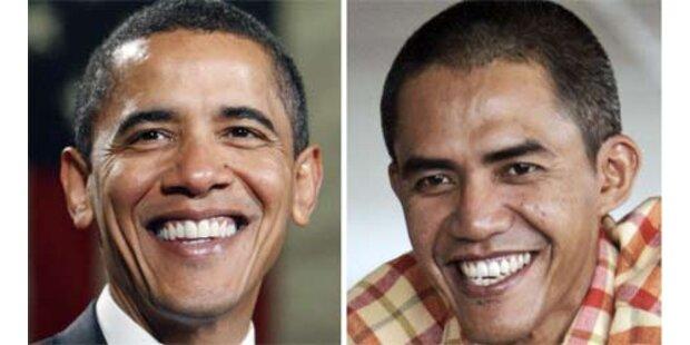 Obama-Double sorgt in Indonesien für Aufsehen