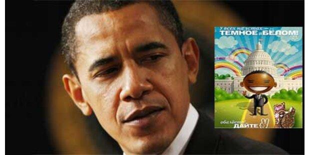 Umstrittene Eis-Werbung mit Obama