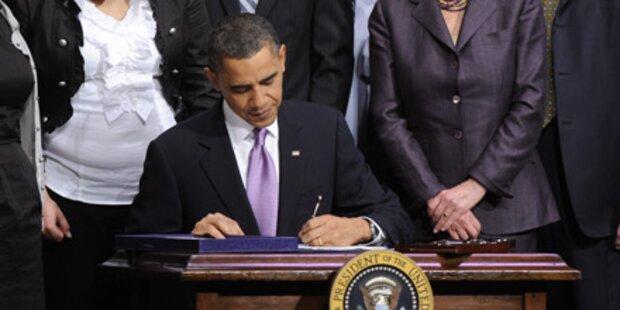 Obama legt letzte Hand an