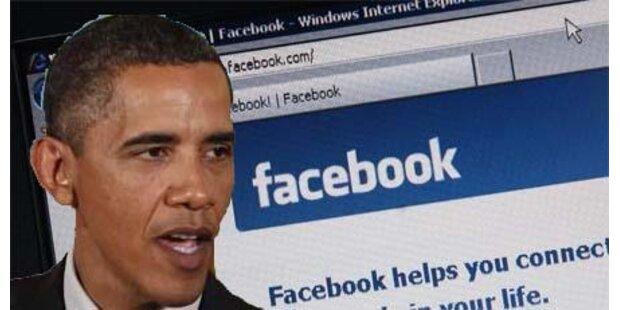 Facebook: Obama erreicht 10 Mio. Fans