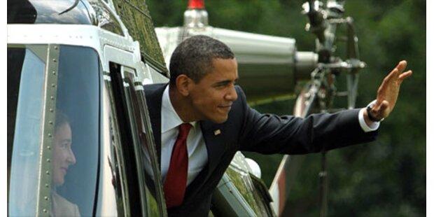 Obamas Beliebtheit sinkt deutlich