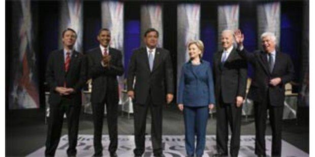 Die Bewerber zur US-Präsidentwahl 2008