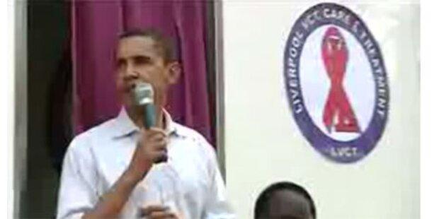 Video zeigt HIV-Test der Obamas
