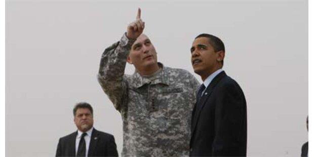 Obama war überraschend in Bagdad