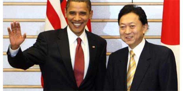 Obama in Japan eingetroffen