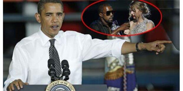 Obama nennt Kanye West
