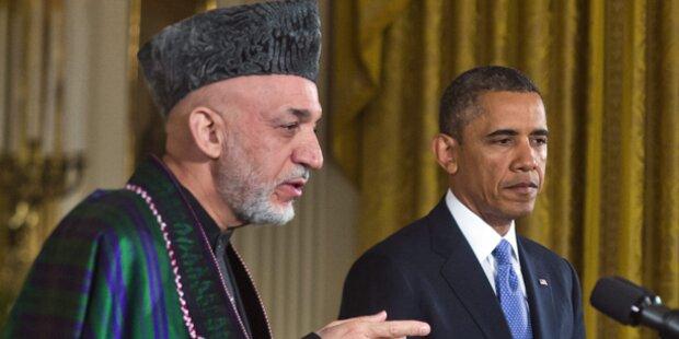 Karzai warb für Sicherheitsabkommen mit USA