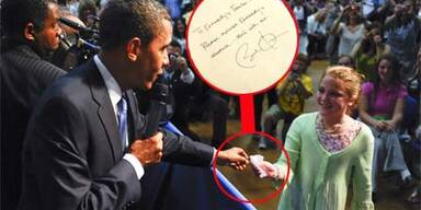 Barack Obama und Kennedy Corpus