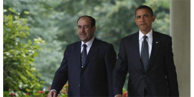 Obama empfing irakischen Premier