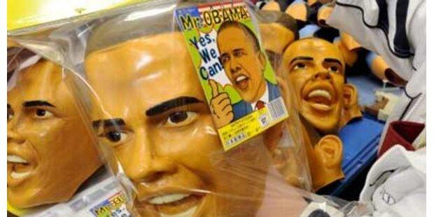 Glückloser Bankräuber mit Obama-Maske