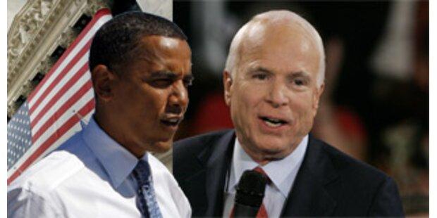 Streit um TV-Debatte zwischen Obama und McCain