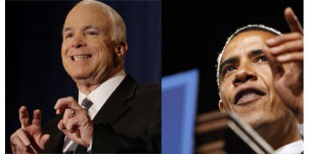 McCain und Obama verpulvern 3 Mio Dollar täglich