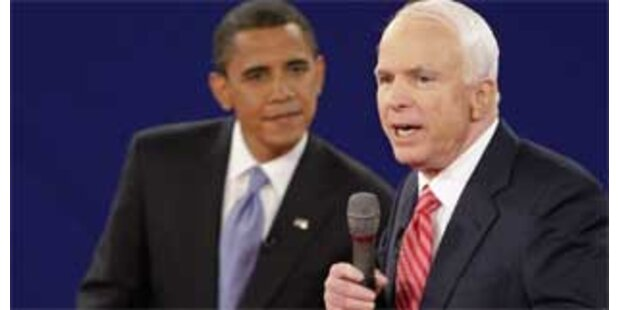 Obama und McCain stritten im TV über Finanzkrise