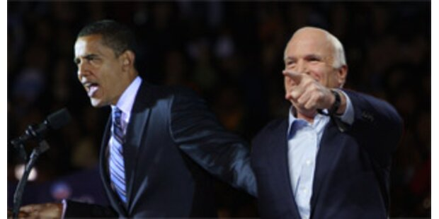 McCain rückt Obama wieder nach