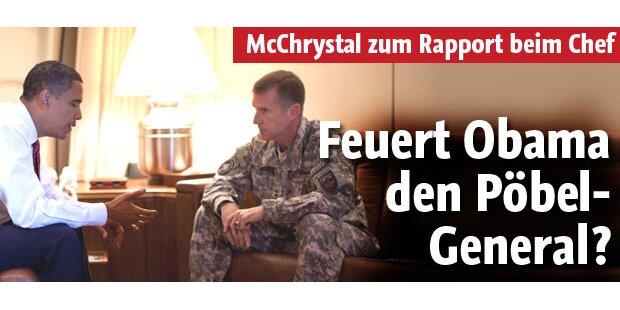 NATO-Befehlschef zum Rapport bei Obama