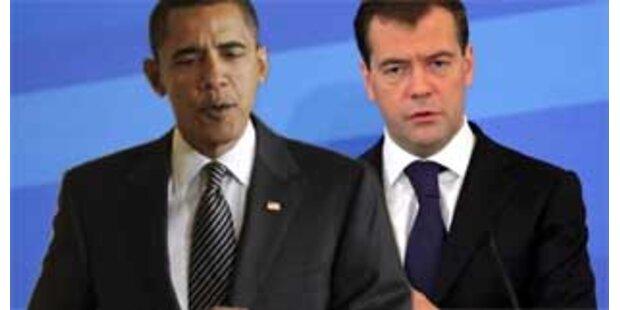 Erstes Treffen Obama-Medwedew im April