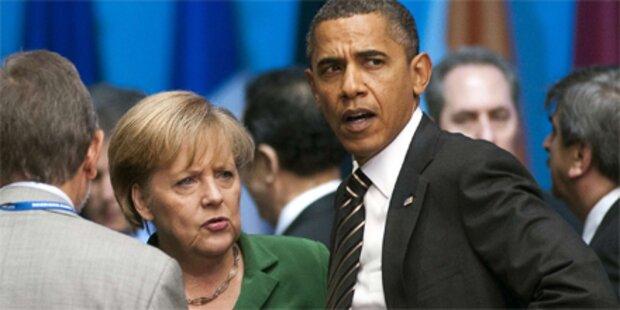 Obama ehrt Merkel mit US-Freiheitsmedaille