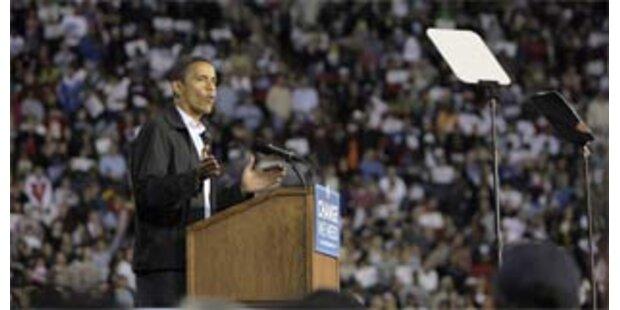 140.000 Menschen jubeln Obama zu