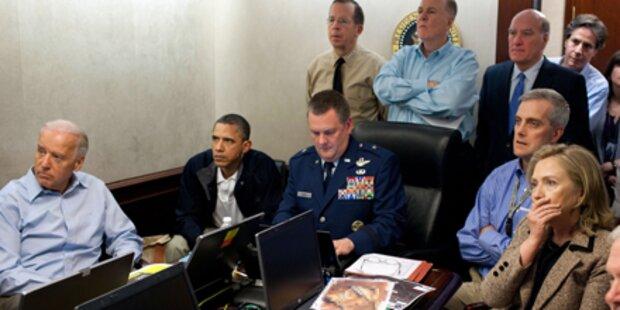 Obama sieht Tötung Bin Ladens live