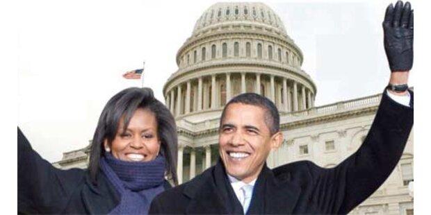 Der historische Tag von Obamas Vereidigung