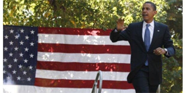 Obama baut vor TV-Duell Vorsprung auf McCain aus