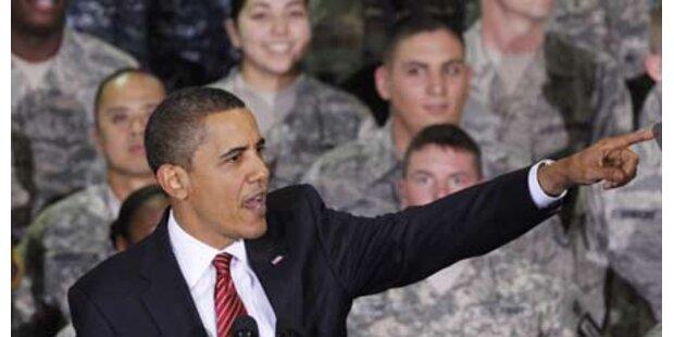 Obama entsendet 30.000 weitere Soldaten