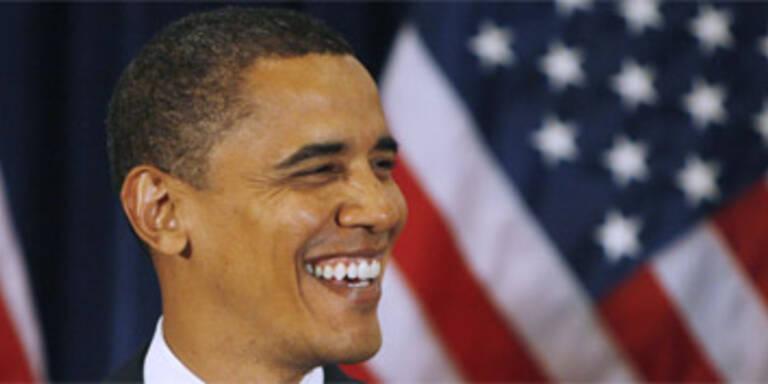 Obama liegt 15 Prozent vor McCain