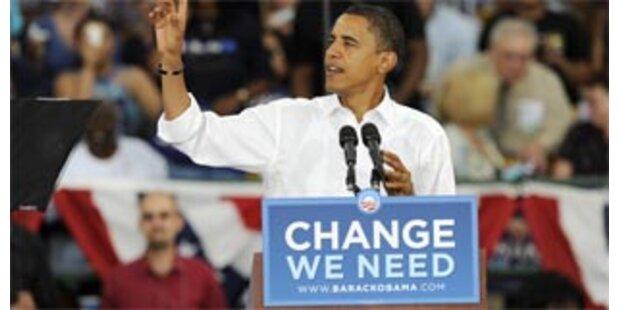 Obama holt auf - und überrundet McCain